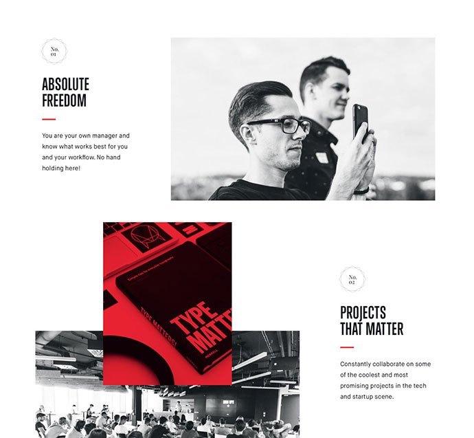 中国设计在线网站_20个独特的网格网站设计灵感(2)-中国设计在线