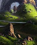 25个美丽的数字艺术风景油画