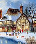 25幅美丽的圣诞画