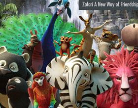 Zafari 3D动画系列人物形象