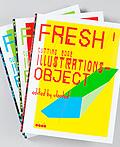Fresh国际当代插画风格和技巧书籍设计